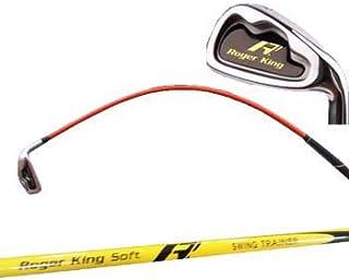 ムチのようにしなる ロジャーキング ゴルフスイング練習機 スイングドクターアイアン
