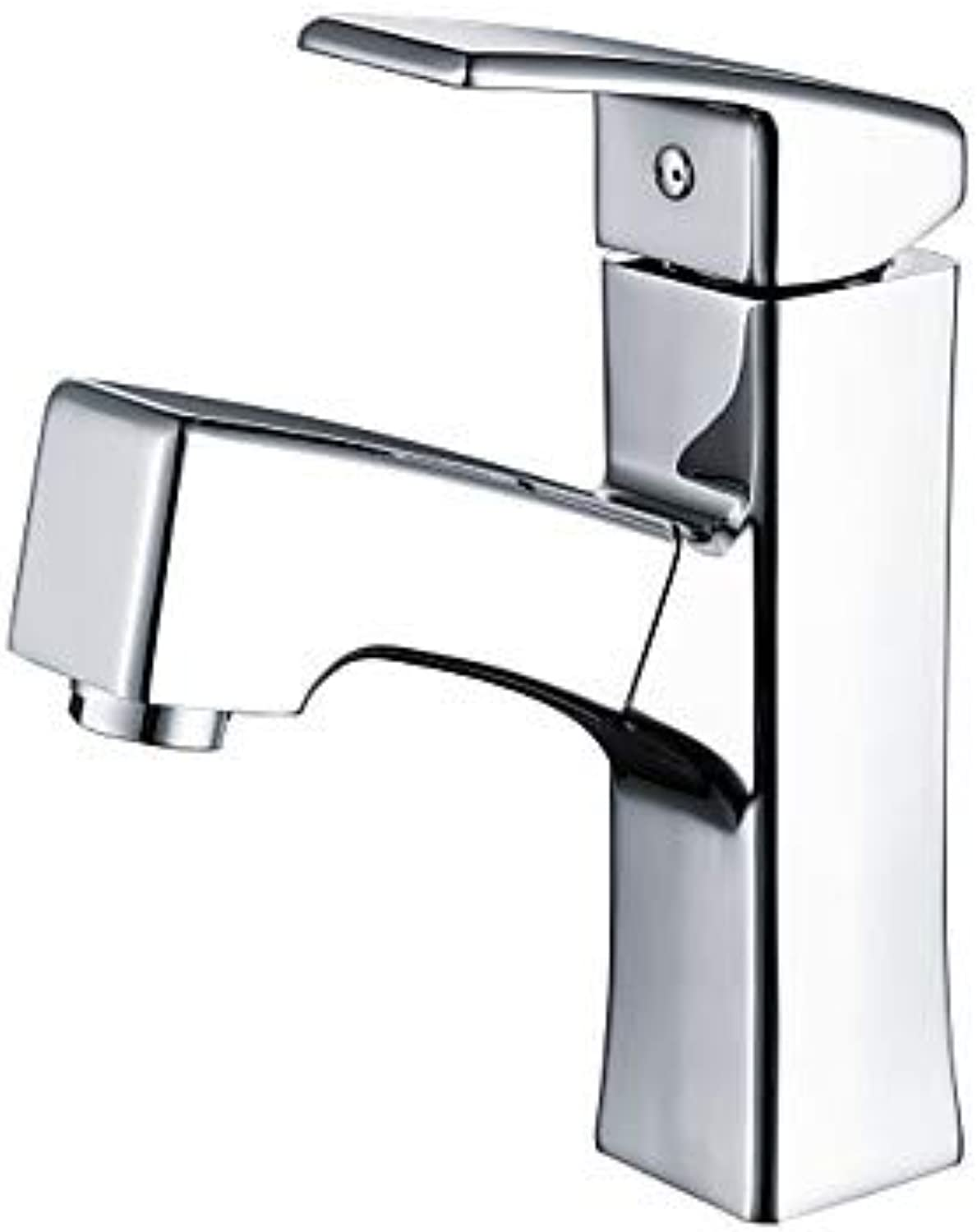 Mangeoo Bathroom Sink Faucet - Widespread Pull Out Chrome Centerset Single Handle One Holebath Taps