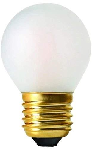 Girard Sudron 28649-LED G45 Ampoule LED à filament en forme de balle de golf Culot E27 Blanc chaud givré 330 lumens Intensité variable 4 W