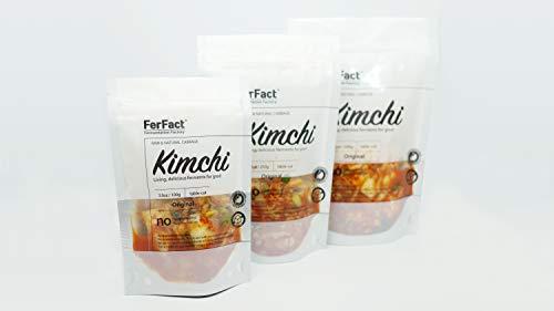 3x500g FerFact Kimchi I Authentic Korean Cabbage Kimchi (Original 500g X 3)