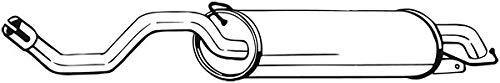 Endschalldämpfer u.a.  Preishammer von kfzteile24   Dämpfer, Abgasanlage