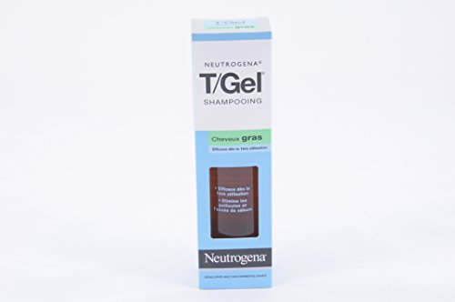 Neutrogena: T/Gel cabello normal a graso, champú anticaspa, frasco 250 ml.