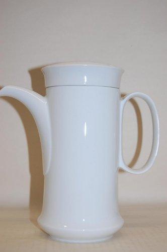 Kaffeekanne Scala Seta Biskuit weiss Hutschenreuther