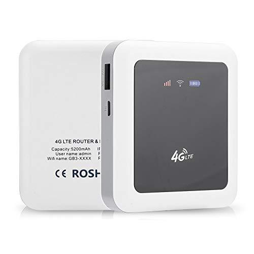 Router inalámbrico 4G LTE móvil, 150Mbps Hotspot Modem Stick Tarjeta de Red inalámbrica Pocket Router portátil 4G/3G