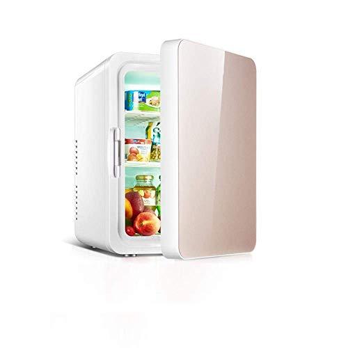 Tafelmodel koelkast for Portable Mini koelkast 10L Car Koelkast Mini Dual Koelkast for huis en auto Huishoudelijke Kleine Koelkast Koelkast Koelkast Thermostaat-C ZHNGHENG (Color : C)