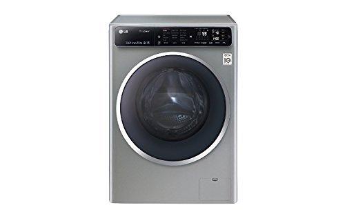 LG F14U1JBS6 lavatrice Libera installazione Caricamento frontale Grigio 10 kg 1400 Giri/min A+++-40% (Ricondizionato)