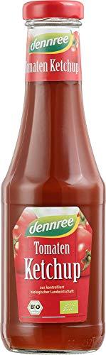 dennree Bio Tomatenketchup Glas (6 x 500 ml)