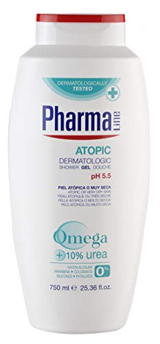 PharmaLine - Gel Dermatologic Atopic - Piel atópica o muy seca - 750 ml
