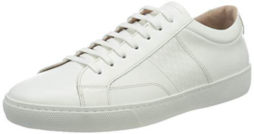 BOSS Damen Olga Low Cut-Hbco Sneakers aus italienischem Leder mit Monogramm-Detail Größe 40