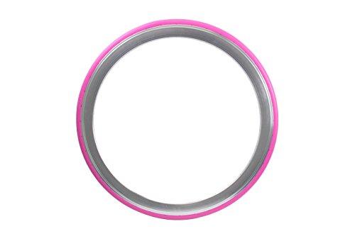 Tannus 700 x 28C Vollgummireifen solid Fixie Singlespeed Reifen Aither 1.1, Farbe:pink