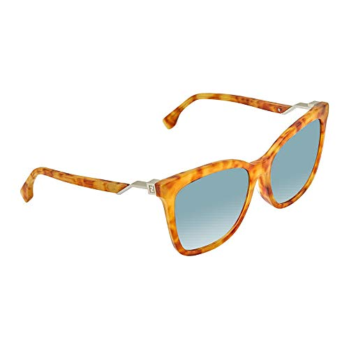 FENDI Sonnenbrille FF 0244/F/S 086/08-56-0-0 Gafas de sol, Marrón (Braun), 56 para Mujer