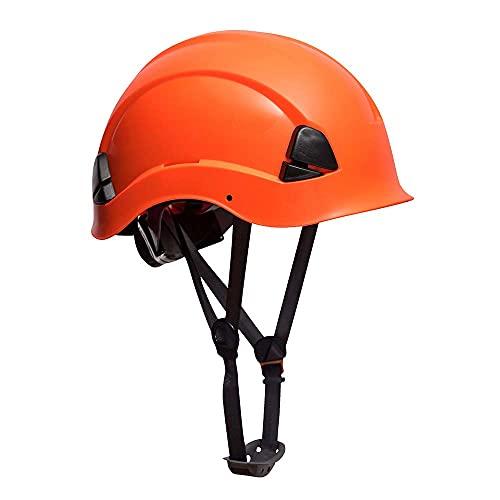 Portwest Elmetto Height Endurance, Colore: Arancione ad alta visibilità, PS53ORR