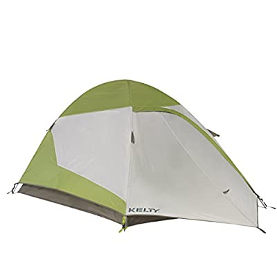 Kelty Grand Mesa Tent ? 2 to 4 Person Camping and Backpacking Tents, Green
