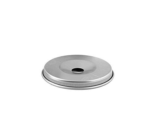 Pentole Agnelli Family Cooking Alluminio Fondello per Fornetto, Ferro, Argento, 0.1x0.1x0.1 cm