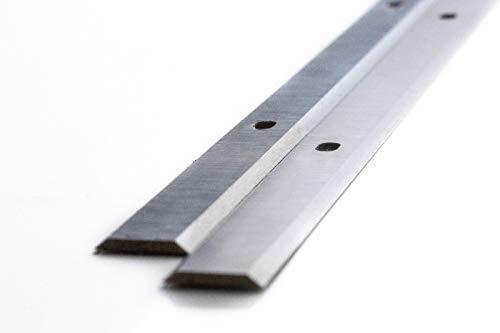 2 Stück/Scheppach Dickenhobel PLM1800 Hobelmaschine Ersatzhobelmesser 18{b7daf28f1fa362a44a4cf203554d514b064b95102d6b1335fa6df4d44ffc7c49} HSS