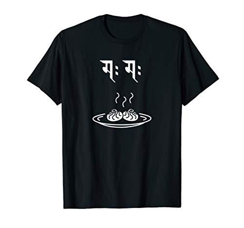 Momo in Nepali Gift for Nepalese Nepal Nepali T-Shirt