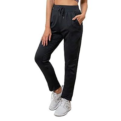 Beewarm Yoga Pants with Pockets for Women Strai...