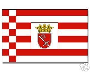 Outdoor-münchen bremen drapeau 90 x 150 cm