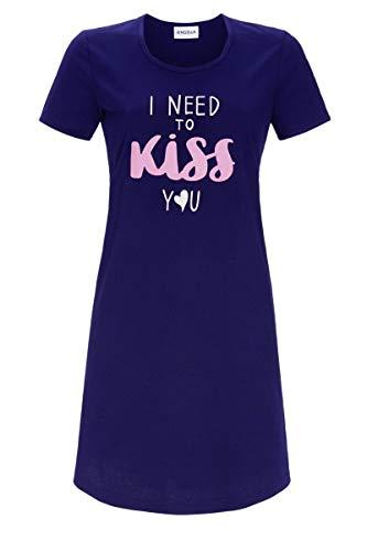 Ringella Damen Nachthemd mit Motivdruck Night 44 1211008,Night, 44