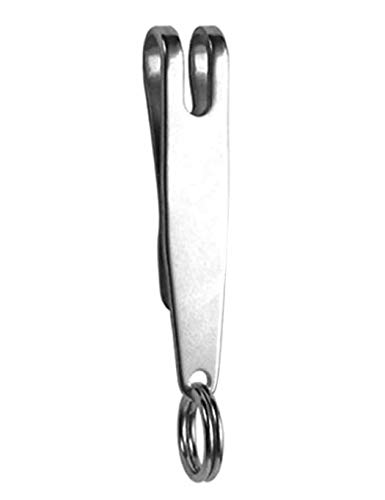 begorey Fibbia a Clip in Metallo con sospensioni edc e Portachiavi con moschettone Valigie e Borse