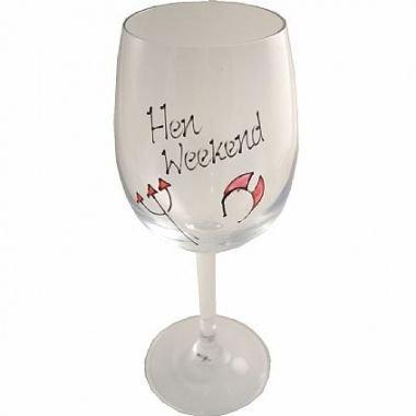 Dreamair Hen Weekend Gift Champagne Fluit