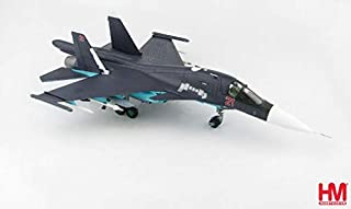 Hobby Master Su-34 Fullback Fighter Bomber Red 21 Russian Air Force Syria 2015 1/72 diecast Plane Model Aircraft