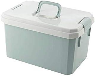Lpiotyucwh Paniers et Boîtes De Rangement, Boîte de conservation en plastique de 1ps pour jouets, articles de toilette, vê...