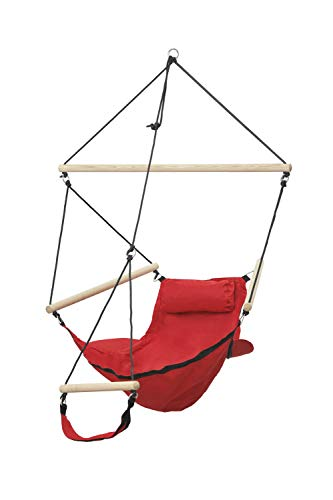Amazonas AZ-2030520 Swinger red Hängesessel, Belastbarkeit 120kg