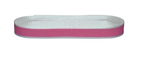 Corderie Italiane 006041986 Cintino per tapparelle, Colore Rosa Flu in Polipropilene, 22 mm, 7,5 mt