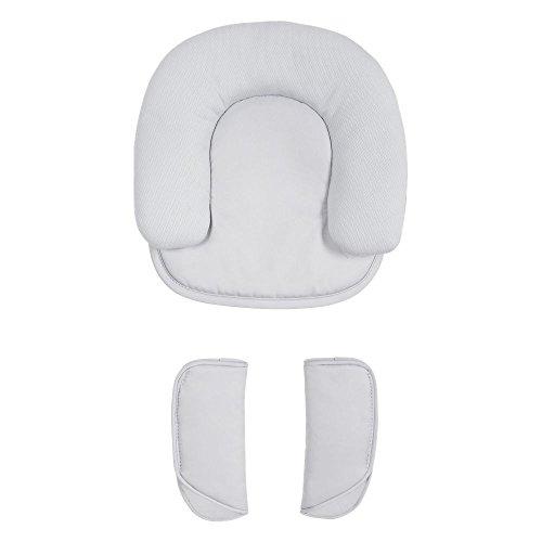Maclaren Headhugger & Shoulder Pads Set - Cale-bébés Parfait pour les petits et les nouveau-nés. Fournissez un soutien de la tête et un confort maximum à votre bébé. Disponible en argent PM1Y030352