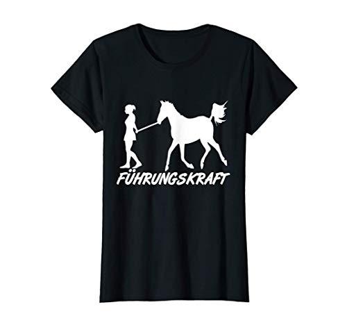 Reiterin, Führungskraft Pferd, Pony Girl Mädchen, Humor T-Shirt