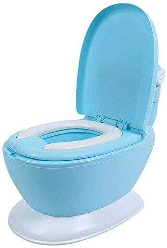 Kinder Klobrille ergonomisches Design einfache Reinigung rutschfeste stabile Hilfstoilettensitz weichen Toilettensitz Klapp