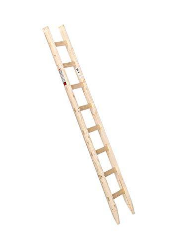 Holzanlegeleiter 8 Sprossen