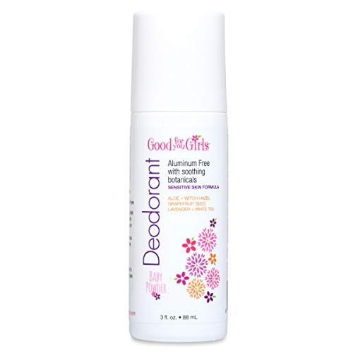 Good For You Girls Aluminum Free Natural Deodorant, Kids, Teens, Vegan, Gluten Free, 3 fl. oz. ... (1 Count)