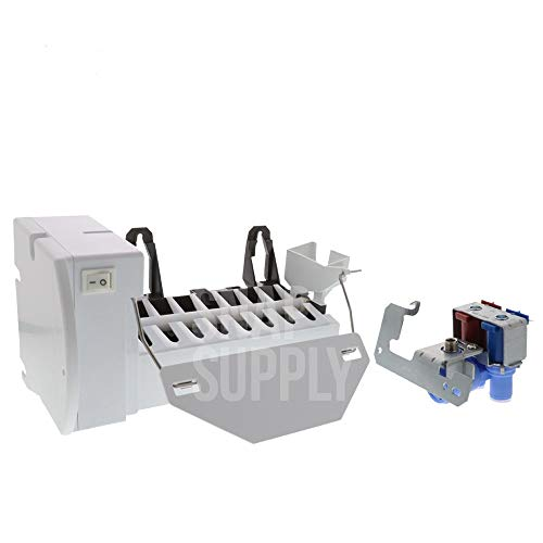 Price comparison product image PRYSM Ice Maker (WR30X10093) and Water Valve (WR57X10032) Kit
