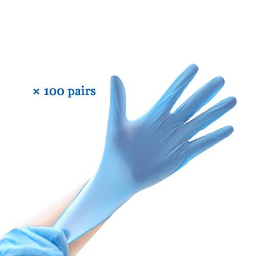 AHwjr handschoenen van nitril, een tijd van de mobiele telefoon, gecomprimeerd scherm, waterbestendig, hoge weerstand, schokbestendig, antislip, voor keuken, badkamer, tuin