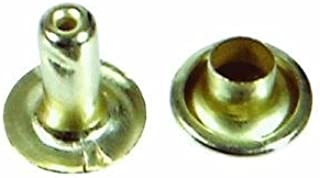 CONNEX DY270758 5mm Nickeled Brass Eyes