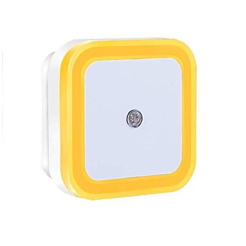 LED-nachtlampje, nachtlampje, nachtlampje met intelligente sensor, LED-in-/uitschakelautomaat, van zonsondergang tot zonsopgang, voor slaapkamer, badkamer, dagrijverlichting wit