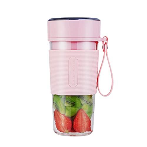 Musun Exprimidor eléctrico USB de 300 ml, exprimidor de botellas de agua, exprimidor de verduras, de alto rendimiento, portátil, exprimidor de manzanas, prensa de frutas para naranja
