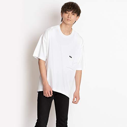 [バレンシアガ] Tシャツ オーバーサイズ バレンシアガ BALENCIAGA メンズ 508218 TYK67 9000 ホワイト ロゴ...