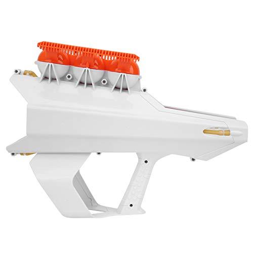 Pistola lanzadora de Bolas de Nieve, Fabricante de Bolas de Nieve, diseño de Mango 2 en 1 de Invierno para niños Que Hacen Bolas de Nieve para Adultos lanzando Bolas de Nieve((White))