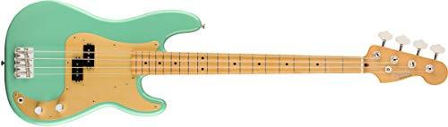 Fender Vintera 50s Precision Bass - Diapasón de madera de arce, color verde