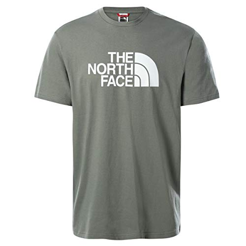 The North Face Men's S/S Easy Tee T-Shirt, AG. Green, XXL Uomo