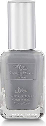 Karma Halal zertifizierter Nagellack - Wirklich atmungsaktiv, frei von Grausamkeit und vegan - Sauerstoffdurchlässiger, Wudu-freundlicher Nagellack (FATIMA)
