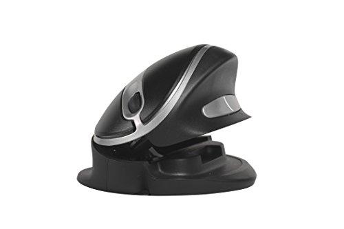 Bakker BNEOYM Oyster Vertikale Maus schwarz/Silber