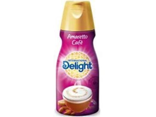 International Delight Amaretto Cafe Coffee Creamer, 16 Fluid Ounce -- 6 per case.