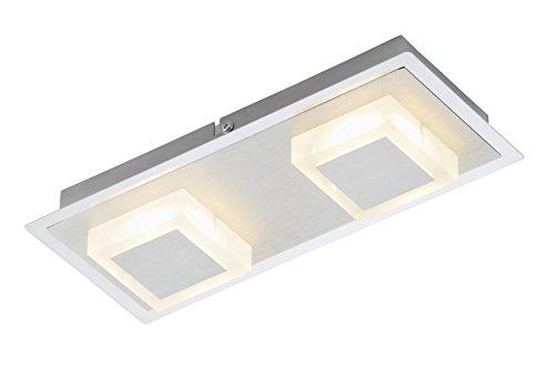 Briloner Leuchten Deckenleuchte, LED Lampe, Deckenlampe, LED Strahler, Wandleuchte, Wohnzimmerlampe, Deckenstrahler, Wandlampe, Deckenspot, Deckenbeleuchtung