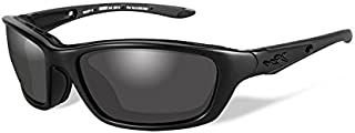 Wiley X Brick Sunglasses, Smoke Grey, Matte Black