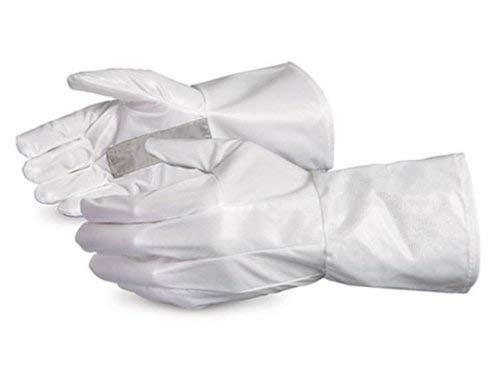 SUPERIOR 1401M2GH Ground Hog Electro-Static Spray Painting Glove, Medium, White (Pack of 12)