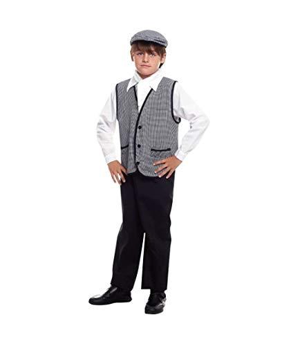 Disfraz Chulapo Madrileño Niño Clásico - San Isidro (10-12 años) (+ Tallas)
